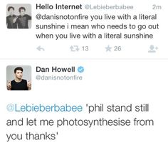 did he just call phil his sunshine