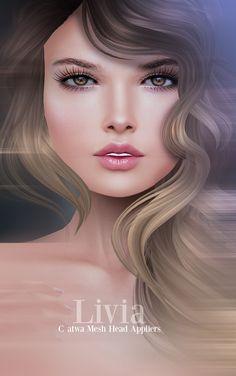 https://flic.kr/p/EWj4p7 | Glam Affair - Livia skin appliers ( Catwa Heads )  - Collabor88
