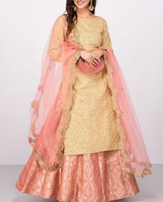 Popular Dresses To Wear To A Wedding, Popular Dresses To Wear To A Wedding Nenhb. Indian Attire, Indian Wear, Indian Outfits, Sharara Designs, Lehnga Dress, Punjabi Dress, Punjabi Suits, Indian Gowns Dresses, Pakistani Dresses