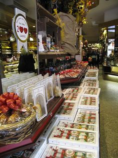 Luebeck, Niederegger Marzipan right from the source