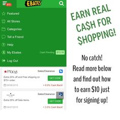 Ebates is for real! Take it from me! Absolutely the easiest and best thing I've ever done! Especially for such a huge online shopper! I get money back for almost every order I place! CLICK THE LINK IN MY BIO FOR $10 JUST FOR SIGNING UP!  kate spade Bags