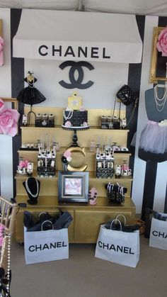 Coco Chanel Birthday Party Ideas | Photo 1 of 19 | Catch My Party