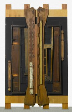 "Louise Nevelson, ""Untitled"" 1985"