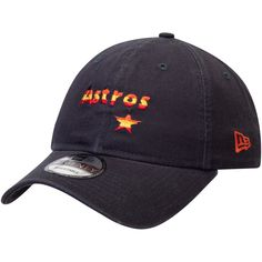 a931649d96bab Men s Houston Astros New Era Navy Cooperstown Collection Core Classic  Replica 9TWENTY Adjustable Hat