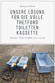 Der Alptraum des wohnmobilen Lebens: Ein leerer Wassertank und eine volle Toiletten-Kassette. Eine einfache, schnelle und kostengünstige Lösung schafft bei uns ab sofort Abhilfe.