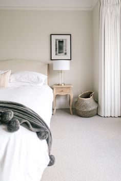 Home Tour of a Characterful Edwardian Semi in Moseley Birmingham Home Tour of a Characterful Edwardian Semi in Moseley Birmingham Laura Goldsmith Bedroom decor Coco Bed From Loaf Ikea nbsp hellip linen white Neutral Bed Linen, Black Bed Linen, Master Suite, Pottery Barn, Ikea Platform Bed, Bed Linen Design, Simple Bed, Modern Bedroom Design, Luxury Bedding Sets