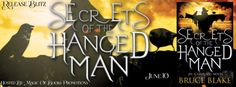 SECRETS OF THE HANGED MAN Icarus Fell series book 3 by Bruce Blake