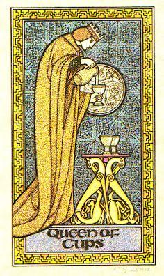 Queen of Cups - Celtic Tarot
