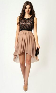 Beautiful cocktail dress for a wedding or a dinner date.