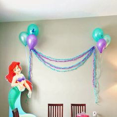 shaileyh.blogspot.com little mermaid   birthday party  ariel  little girl birthday party