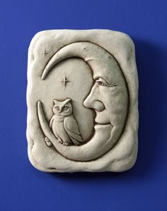 "CELTIC CAT PLAQUE Cast Stone 5/"" Indoor Outdoor GARDEN KITTEN Door Wall Sign"