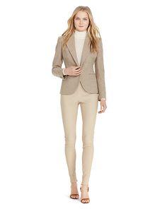 Tweed Single-Button Jacket