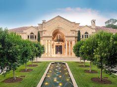 Amazing $43,000,000 Chateau-Like Property in Houston, Texas