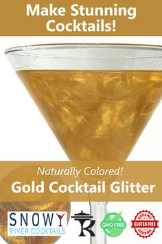 All natural, kosher, award winning cocktail glitters from Snowy River. Our cocktail glitters and designed and tested by mixologists and are top seller to bars/restaurants across the US. Work great in margaritas, vodka, gin and other specialty cocktails. Color your cocktail world with Snowy River cocktail decorating products.