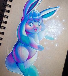 Beautiful & Cutest Pokemon Drawings by: Reid