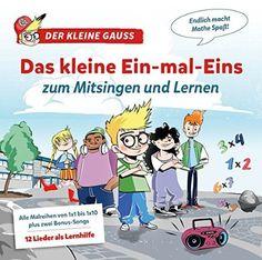 """Das 1x1 Album - very good project for children: Das 1x1 zum Singen und Lernen from """"Der kleine Gauss"""". #multiplication_table #ein-mal-eins #einmaleins #der_kleine_gauss #Lernhilfe #mitsingen #lied"""