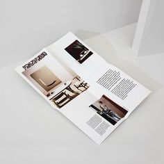 """81 Likes, 2 Comments - Mildred & Duck (@mildredandduck) on Instagram: """"The folded pamphlet we created for the Apartment concept space by @sisalla_interior_design has been…"""""""