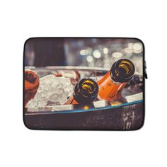 This lightweight, form-fitting Champagne 3515140 Laptop Sleeve is a must-have for any laptop owner on the go. Hat Embroidery Machine, Poly Bags, Sleeve Designs, Laptop Case, Order Prints, Laptop Sleeves, Biodegradable Products, Champagne, Bubbles