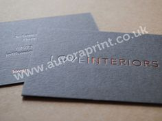 grey and rose gold business card - Google Search