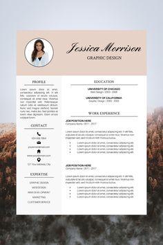 good resume examples | professional resume template | resume layout template | cv layout template Template Cv, Modern Resume Template, Creative Resume Templates, Visual Resume, Basic Resume, Best Cv, Resume Photo, Perfect Resume, Layout
