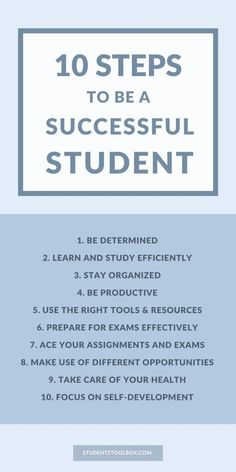 Stick to our study tips to get ahead in high school and college. Find out more study tips and hacks at: www.studentoolbox.com