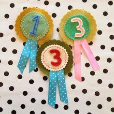 birthday rosettes