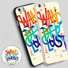 wanderlust travel Phone Ring Holder Soft TPU Silicone Case Cover for iPhone 4 4S 5C 5 SE 5S 6 6S 7 Plus