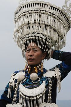 China | Participant at the Yi Torch Festival in Butuo, Sichuan Province. |  © Ronnie Dankelman