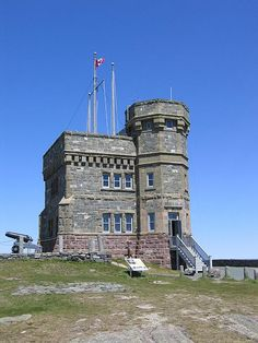 Cabot Tower in St. John's, Newfoundland.