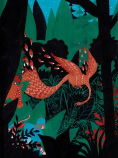 Russian Folk Tales - The Firebird  by Nicolai Troshinsky