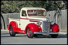 1940 Chevy, two-tone, side step.....like it