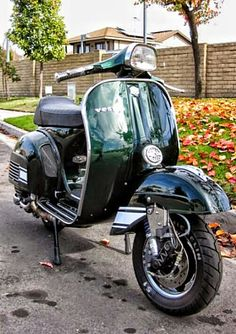nicely done vespa, with stopping power (these things, contrary to popularly beliefs go quite fast you know) http://autopartstore.pro
