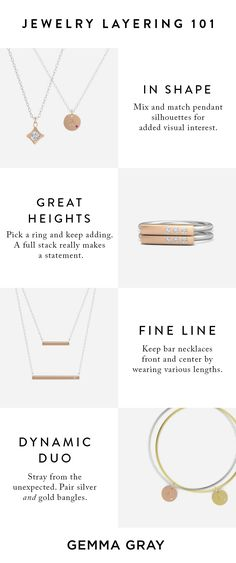 Jewelry layering? So simple. Let us show you how it's done.