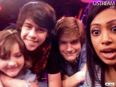 Aislinn, Munro, Justin and Melinda ❤ Degeassi cast!