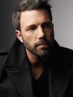Ben Affleck didn't even remotely register on my radar until recently/ aka he started rocking his salt and pepper look.