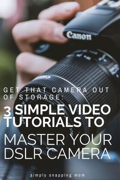 If you really want to learn about photography, you need a visual guide! I promise after watching these 3 quick free videos you will understand your DSLR camera settings 101 Simplifying Photography: Video Edition