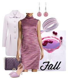 """Classy pink turtle"" by maria-kuroshchepova ❤ liked on Polyvore featuring Forever New, Chetta B, Best Society, Swarovski and sleevelesssweater"