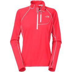 The North Face Women`s Impulse Active 1/4-Zip Long-Sleeve Shirt