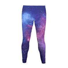 Galaxy Print - Lay your tired head in a sea of stars and cosmic energy with this wonderfully soft and spacious galaxy pair of leggings. Perfect gift for science,astronomy or star enthusiast in your life.