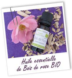 Huile essentielle Bois de Rose BIO Aroma-Zone http://lumierespournosdefunts.blogspot.fr/