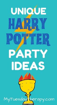 These Harry Potter Party Ideas will entice teens, tweens and younger kids. Easy Party Games, Birthday Party Games For Kids, Teen Birthday, Birthday Party Themes, Themed Parties, Harry Potter Party Games, Harry Potter Activities, Harry Potter Party Decorations, Teenage Parties