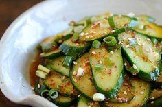 Simple Korean Cucumber Salad Recipe on Food52 recipe on Food52