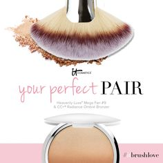 It Cosmetics x ULTA Airbrush Dual-Ended Absolute Powder Brush #133 by IT Cosmetics #3