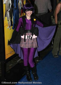 Erin Sanders in Hit Girl Costume Photo - 'Megamind' Premiere