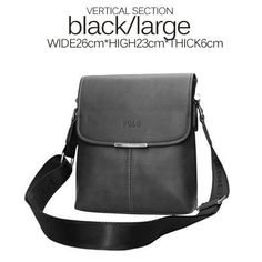 New Brands High Quality Pu Leather Men Messenger Bags classic Casual Shoulder Crossbody Bags Business Laptop Briefcase Handbags - Best price in 10minus