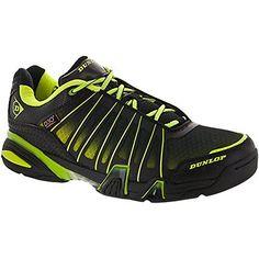 outlet store ac66c c67e5 Amazon.com   Dunlop Ultimate Tour Indoor Men s Racquetball Squash Court Shoe  (Black Green) (Non-Marking) 7.0 D(M) US   Shoes