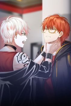 It was in these after endings of 707 that I realized just how beautiful of a character Saeran is and that I wanted MC to pursue this boy to save him...