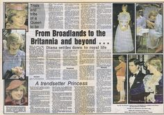 Southern Evening Echo newspaper to commemorate Princess Diana's 21st birthday on July 1st 1982