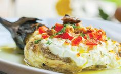 Baked Potato, Feta, Mashed Potatoes, Baking, Ethnic Recipes, Eggplants, Greek, Kitchen, Whipped Potatoes