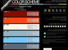 website color palettes - Google Search